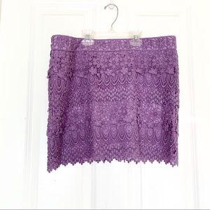 AEO Lacey Mini Skirt
